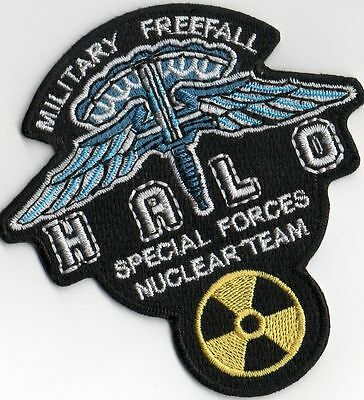 Ecusson Halo military freefall Halo special forces patch airsoft patch