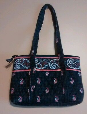 VERA BRADLEY IMPERIAL Toile Little Betsey Purse Shoulder Bag Retired ... 1b033dffda06e
