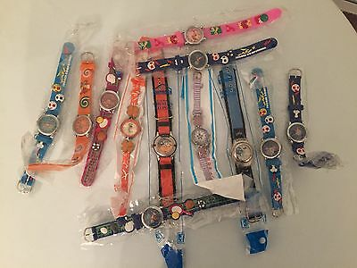LOT OF 12 Children watch all kinds of colors