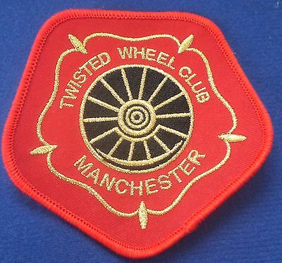 Northern Soul Patch - The Twisted Wheel Manchester - Hexagonal