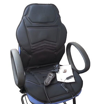 Xmas Gift Heated Seat Cover Topper Chair Cushion Office Car Relaxing Massager