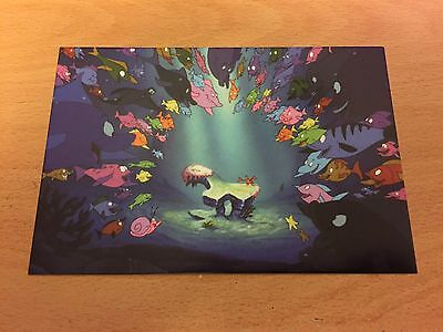 The Art of Disney Themed Postcard - The Little Mermaid #1  - NEW