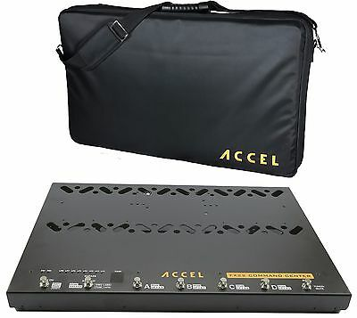 Accel FX22 Command Center Pedal Controller Switcher Pedal board
