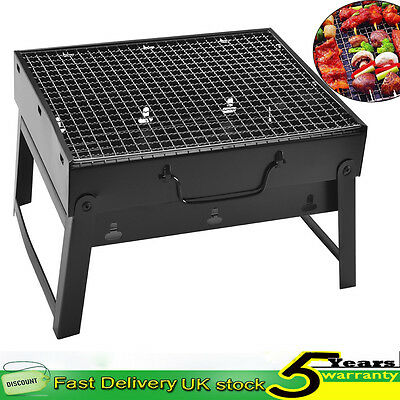 Portable Folding BBQ Barbecue Grill Charcoal Gas Kitchen Outdoor Garden Camping