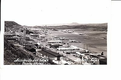 Azores     Terceira Lajes Airport  Real Photo  1955