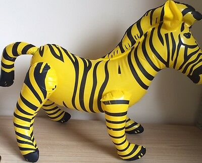 The Inflatable Zebra Balloon Large Birthday Party Accessory Animal Theme