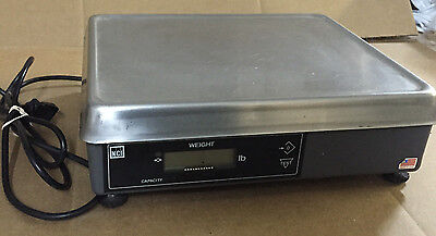 Nci Weigh Tronics 6720-7 15Lb Pos Serial Scale With Power Supply
