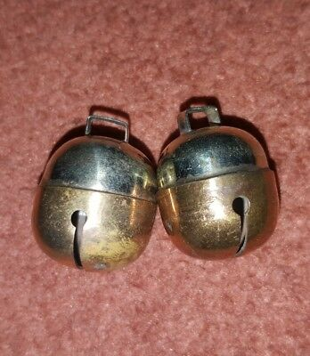 Falconry, Dog, Cat Bells Two Tensile Acorn Bell Pair Excellent Sound