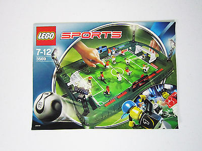Lego 3569 Instructions - Great Condtion - Soccer