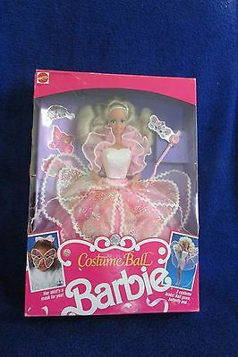 Mattel Costume Ball Barbie  Never Removed from the Box