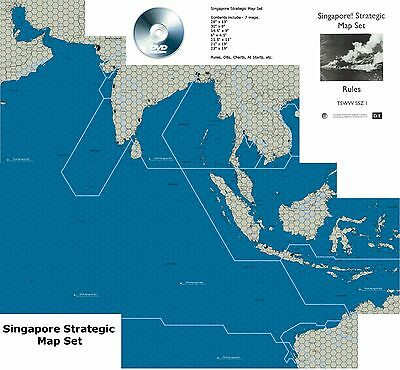 "Diffraction Entertainment TSWW-Series ""Singapore Strategic Sea Zone Maps"" - NEW!"