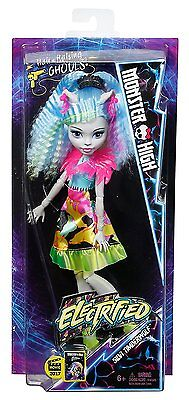 Monster High DVH66 Electrified Silvi Timberwolf Doll