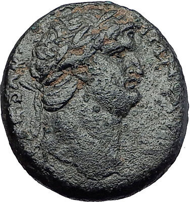 NERO 65AD Antioch on the Orontes in Seleukis Pieria Ancient Roman Coin i58043