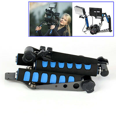 Stabilizer Support  Shoulder Pad Mount Camcorder DV Video DSLR Camera From UK
