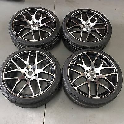 4 X Holden Vx Commodore Pdw Mag Wheels With 245/35Z/r19 Tyres