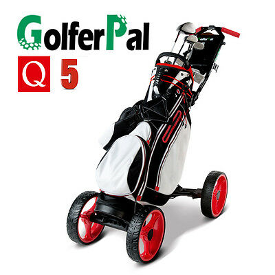 GolferPal Q5 4 wheels Electric Motorised Remote Control golf buggy cart trolley
