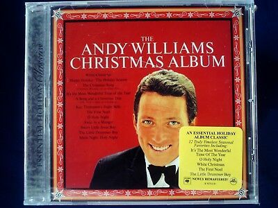 Andy Williams Christmas.The Andy Williams Christmas Album Cd Sealed Jewel Case Cracked