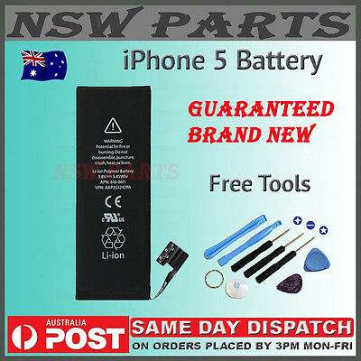 For Apple iPhone 5 Brand New Genuine Original Internal Battery Replacement 3.8v