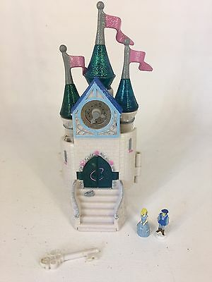 Vintage 90s Polly Pocket Trendmasters Starcastle Mini Bubble CINDERELLA Castle