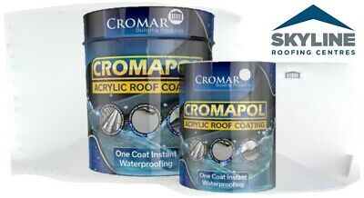 Cromapol | One Coat Instant Waterproofing | Roof Repair | Paint | 5kg | 2.5kg