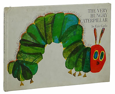 The Very Hungry Caterpillar ~ ERIC CARLE ~ First Edition ~ 1st Printing 1969