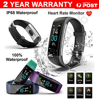 Bluetooth Smart Bracelet Fitbit Style Sport Watch Step Counter Pedometer Tracker