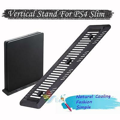 Vertical Stand Mount Dock Holder Base For Playstation 4 PS4 Slim Gaming Console