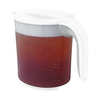 Clear/white Mr Coffee Tm70 Iced Tea Maker 3-quart Easy Clean Replacement Part