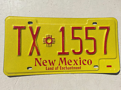 "New Mexico Taxi License Plate "" Tx 1557 ""  Nm   ""cab ....where To?"""