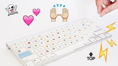 Emoji Keyboard Silicone Keyboard Cover Apple Macbook Pro Air Keyboard & Software