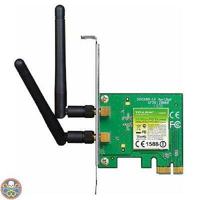 Tp-Link Tg: Pcie, 300 Mbps Bianco Tl-Wn881Nd Adattatore Pci Express Nuovo