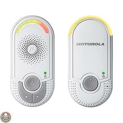 Motorola White Baby Monitor Audio Digitale Mbp8 Bianco Nuovo