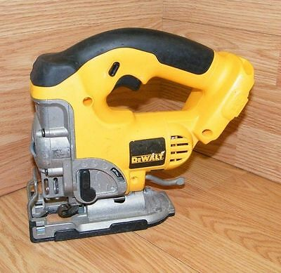 DeWalt (DC330) Yellow 18V Cordless Variable Speed Jig Saw Only *Bare Tool*