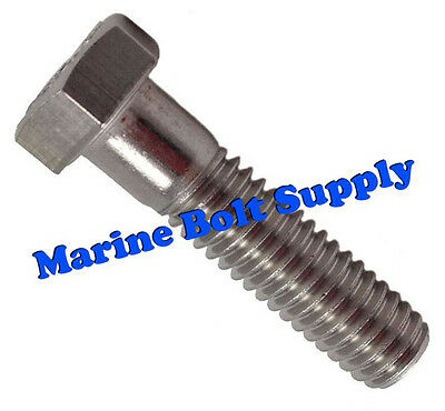 Type 316 Stainless Steel Hex Head Bolts (Sizes: 1/4-20, 5/16-18 & 3/8-16)