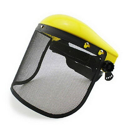 Chainsaw Safety Helmet Brushcutter Strimmer Protective Hat Face Shield Screen  チ