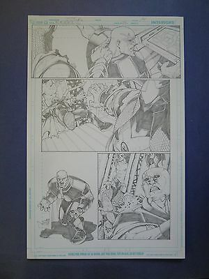 Rebels Vol. 2 #26 pg.14 May '11 Original Art by St. Aubin, a bit shovey