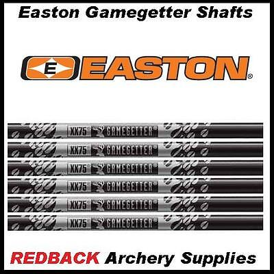 12 Easton Gamegetter XX75 arrow shafts 500 spine for archery or hunting