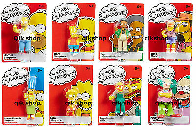The Simpsons Mini Collectable Figures All 8