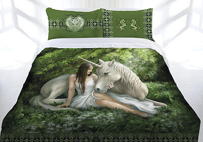 Anne Stokes Bedding Pure of Heart King Doona Cover