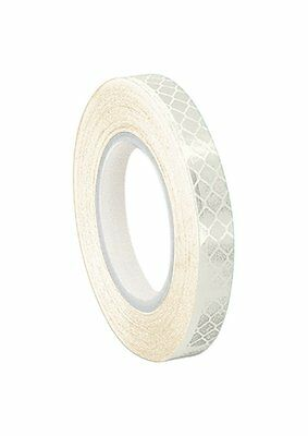 TapeCase White Micro Prismatic Sheeting Reflective Tape Converted from 3M 3430,