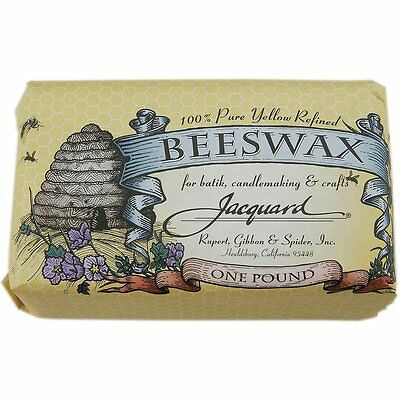 Jacquard Products 1-Pound Bees Wax, Yellow