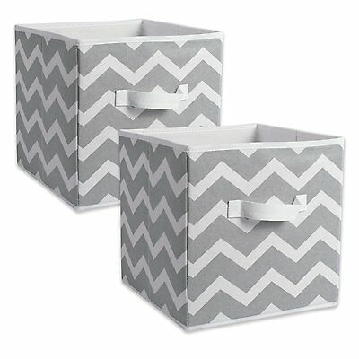 DII Foldable Fabric Storage Containers for Nurseries, Offices, Closets, Home Dec