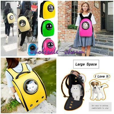 Chic Pet Cat Dog Astronaut Carrier Travel Bag Space Capsule Backpack Breathable