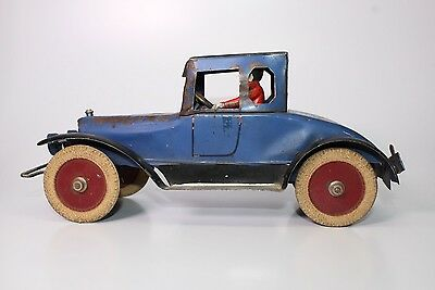 Scarce Kingsbury Auto Coupe With Driver