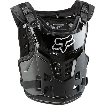Fox PROFRAME BLACK / CHEST GUARD / DEFLECTOR 2014 - YOUTH - FO06120001OS