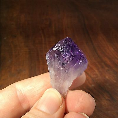 Natural Rough Amethyst Crystal Point 161278 Brazil Metaphysical Healing