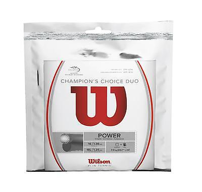 Wilson Champion's Choice Duo 12,2m natur/silber