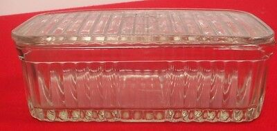 Glass Butter Or Bread Dish