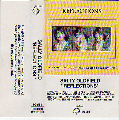 SALLY OLDFIELD Reflections RARE best of  MC Tape MUSIKKASSETTE Mandala MIRRORS