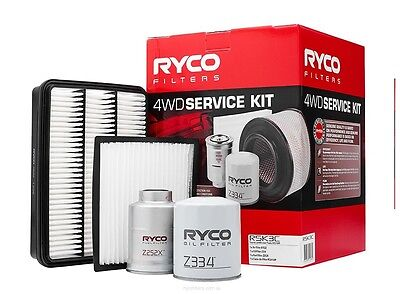 RYCO Oil Air Fuel Cabin Filter Service Kits PRADO KZJ120R 1KZTE